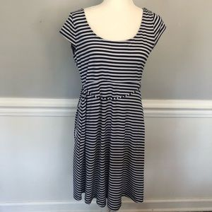 Motherhood Maternity Stripe Dress